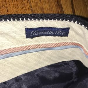 "J. Crew Pants - J Crew navy pinstripe ""favorite fit"" dress pants"